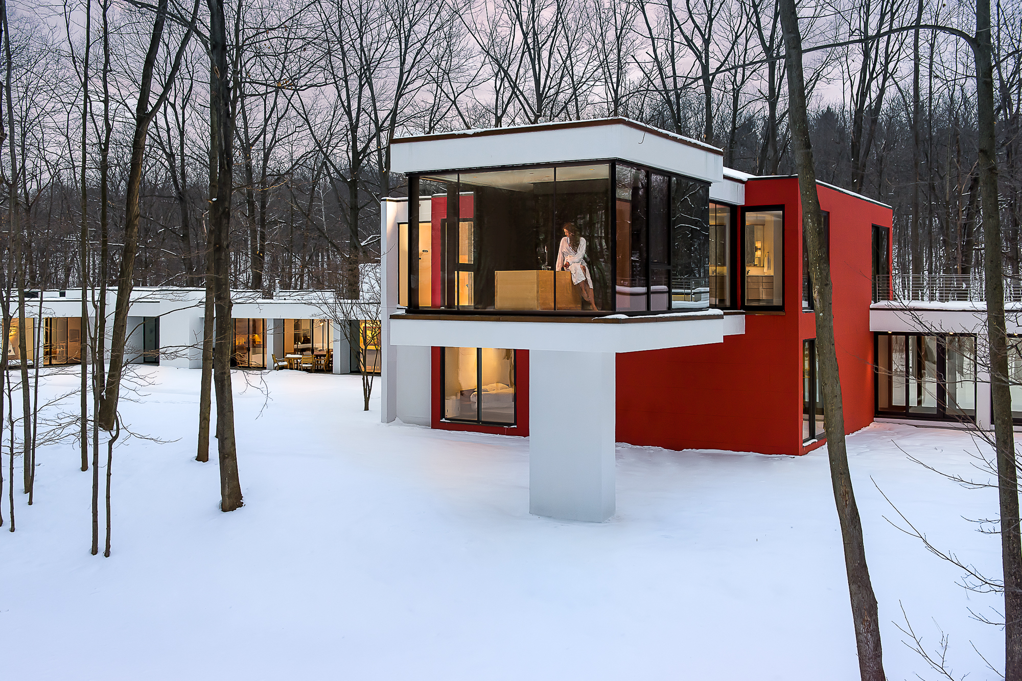 Architectural Resources House In The Woods