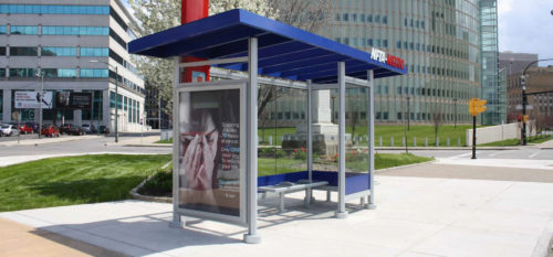 NFTA Transit Shelter