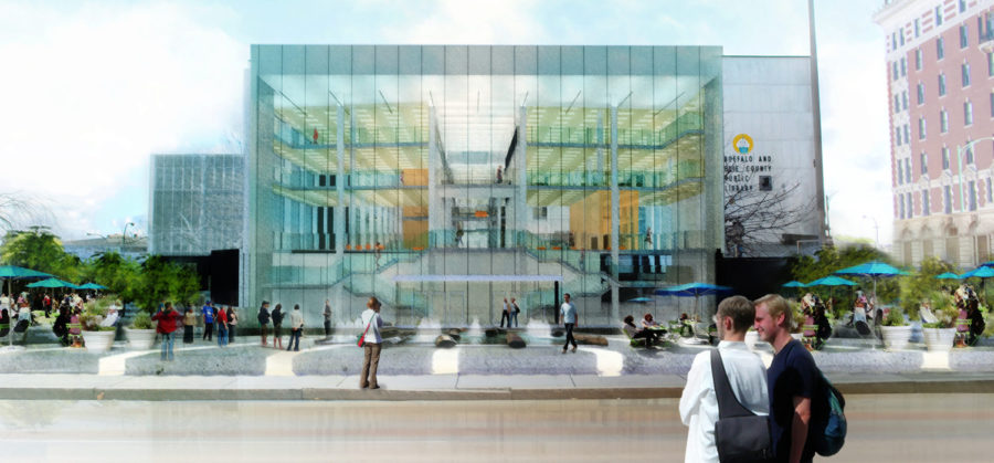 Buffalo Public Library Architecture