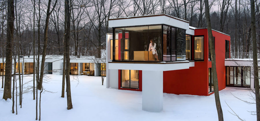 House in the Woods Residential Architecture