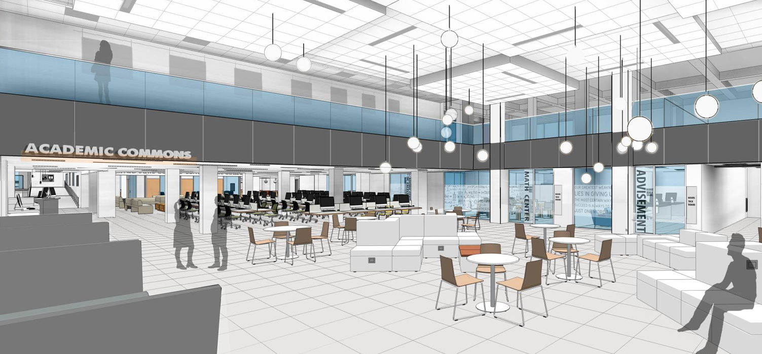 Butler Library at Buffalo State College by Architectural Resources