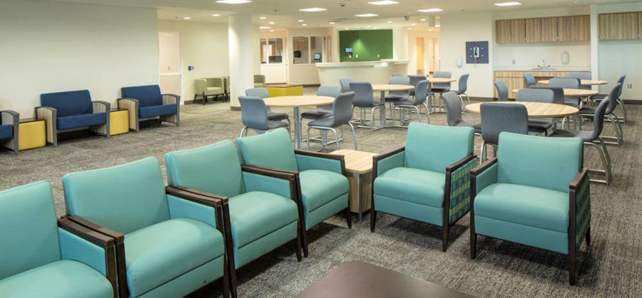 Maryvale Hospital by Architectural Resources