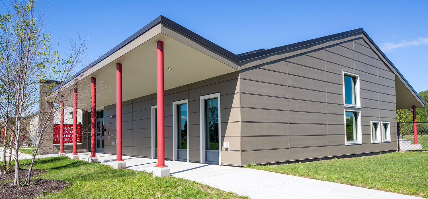 Child Care Center in Potsdam NY by Architectural Resources