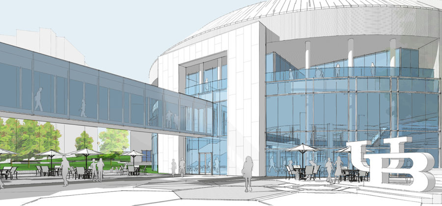 UB Student Union Master Plan by Architectural Resources