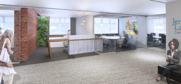 Jenson Marks Langer & Vance Office Redesign