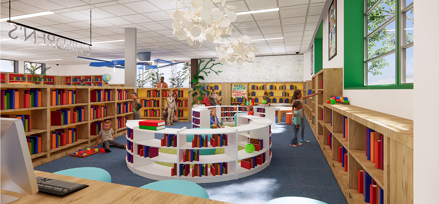 Crane Library by Architectural Resources