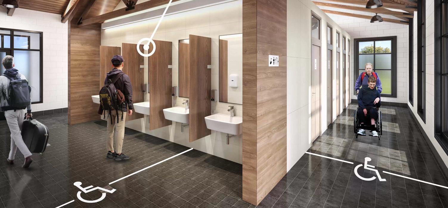 Universal Design for Public Comfort Stations